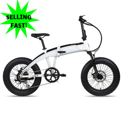 ELECTRIC BIKE AVENTON SINCH - FOLDABLE ONE SIZE Crest White
