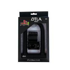 DTLA LOCKS U-LOCK DTLA  Premium Black/Black