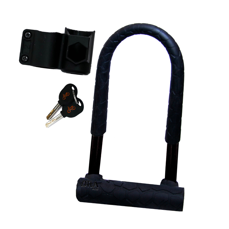 For those larger bikes, a larger lock