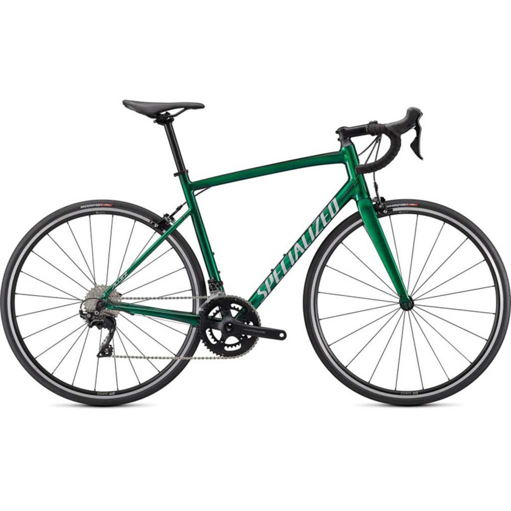 Specialized ALLEZ E5 ELITE GRNTNT/SIL/CARB 58