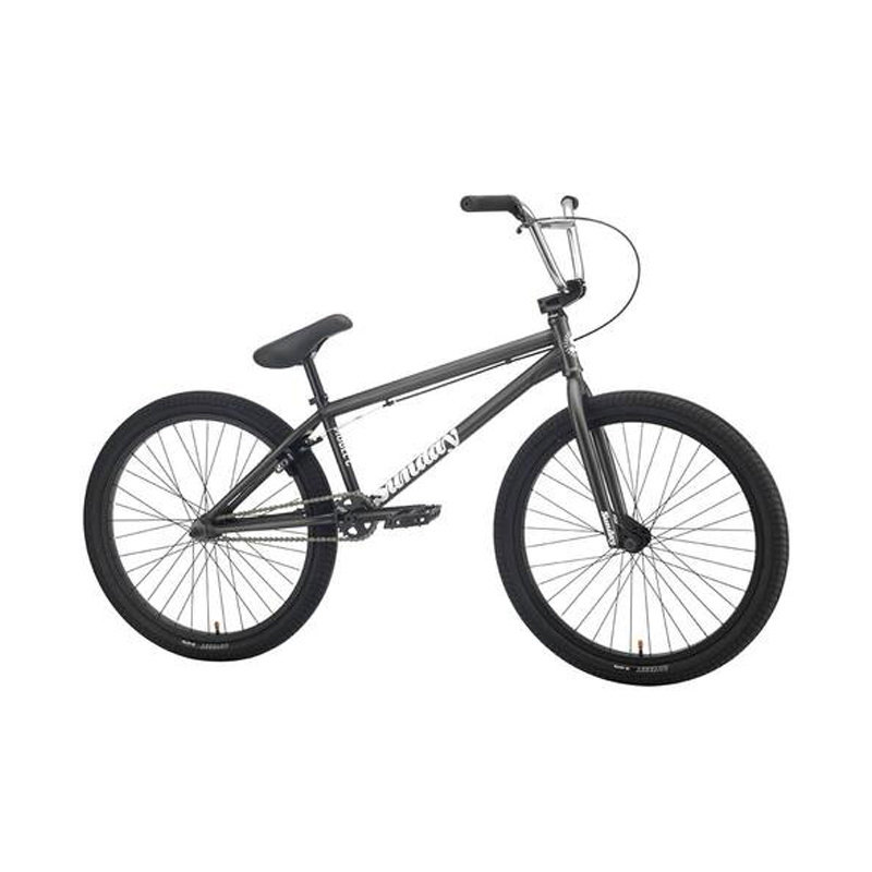 "BIKES 2021 SUNDAY Model C 24"" Matte Transluscent Dark Gray"