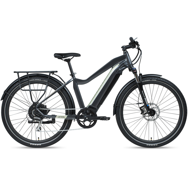 ELECTRIC BIKE AVENTON LEVEL COMMUTER - Stone Grey Large