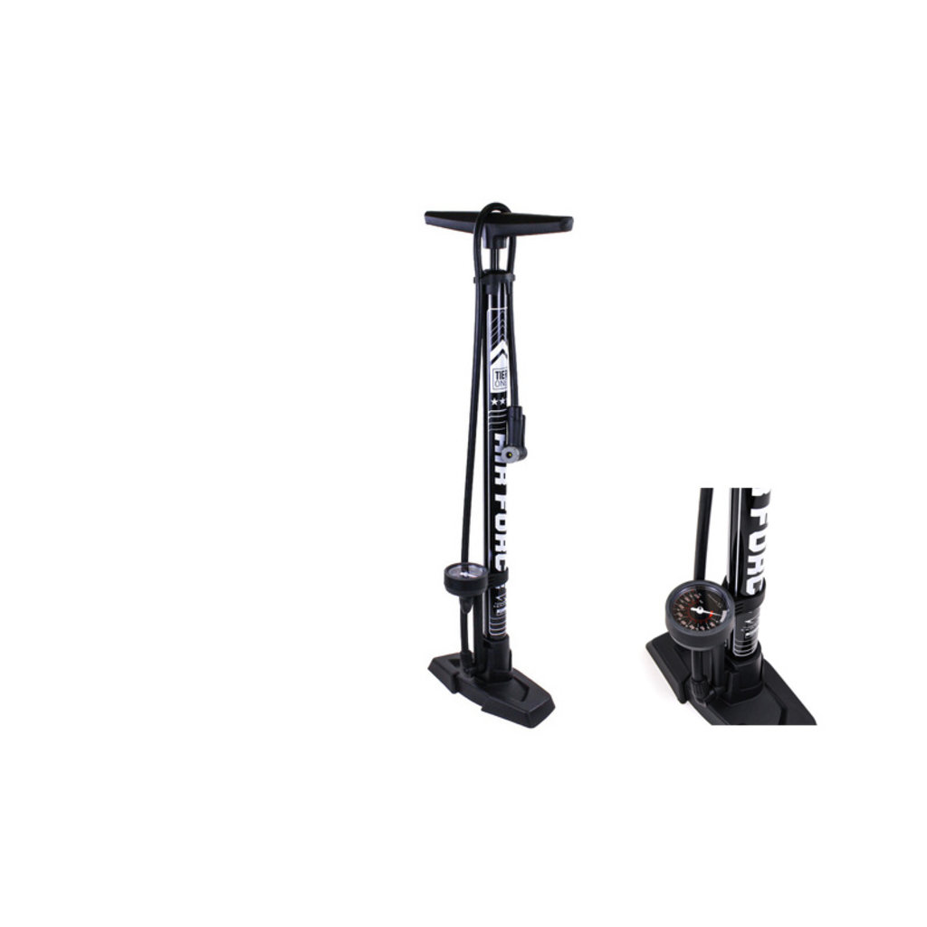 FLOOR PUMP SERFAS AIR FORCE TIER ONE BLACK