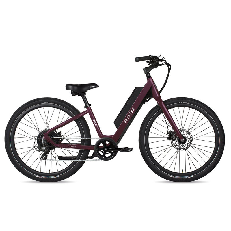ELECTRIC BIKE Aventon Pace 350 Step-Through Amethyst Medium