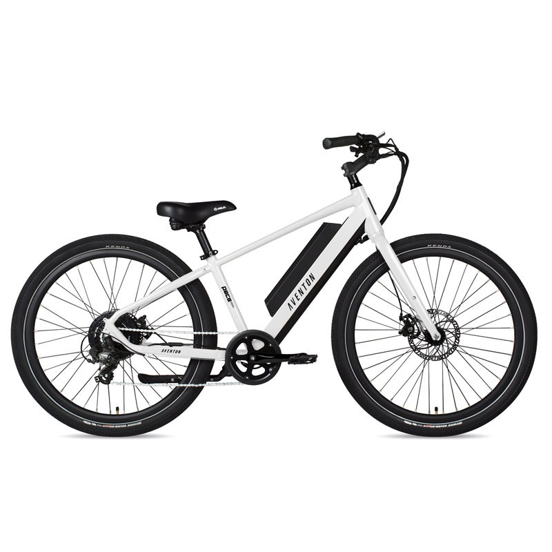 ELECTRIC BIKE Aventon Pace 350 Chalk White Large