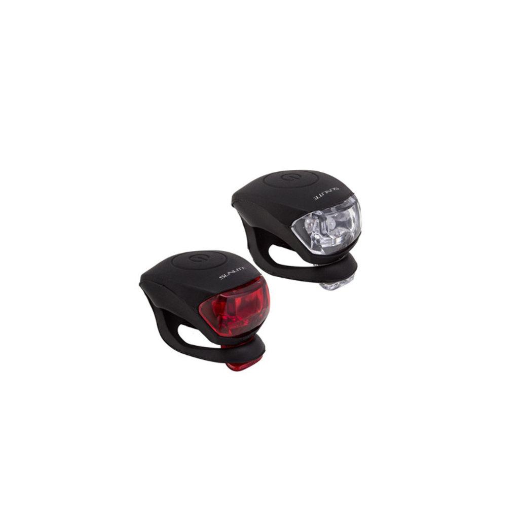 LIGHT SUNLT COMBO HL-L205/TL-L205 2-LEDUSB BK