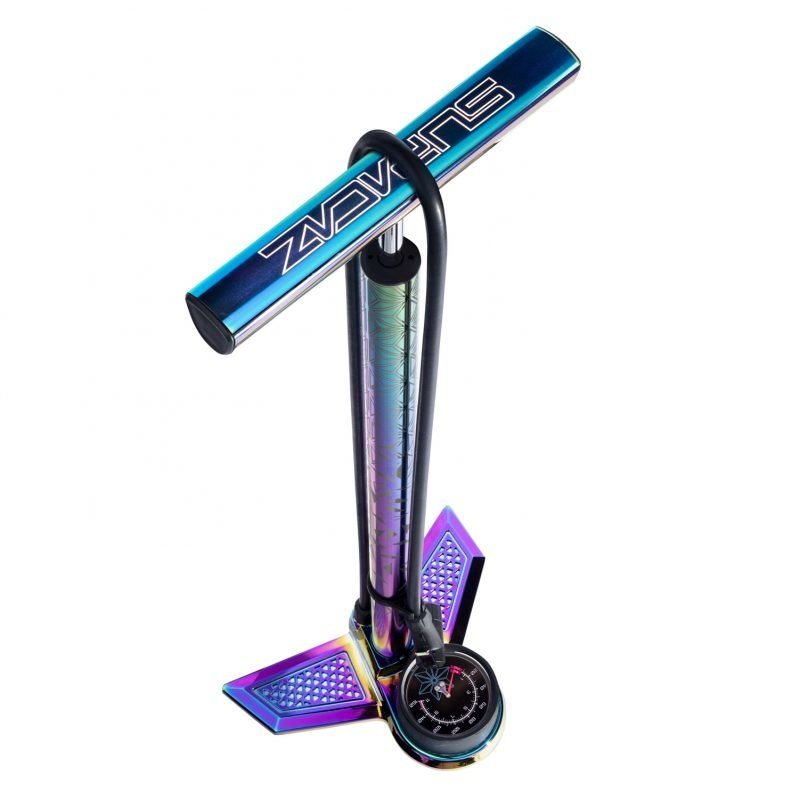 SUPACAZ PUMP SUPACAZ FLOOR SUAVEAIR ALY w/GAUGE OIL SLICK