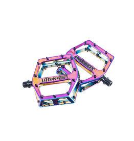PEDALS 9/16 Vault Lacon Signature Pedals Oil Slick
