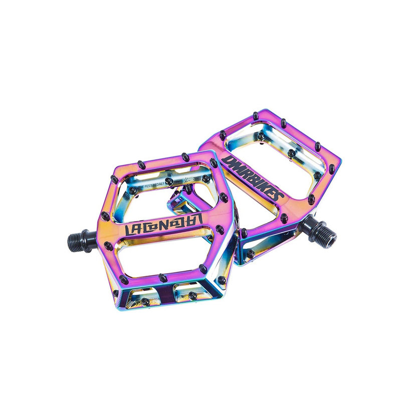 PEDALS 9/16 Vault Lacon Signature Pedals Oil Slick