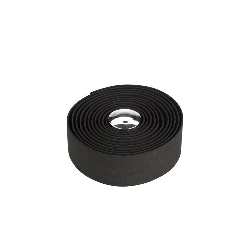 HANDLEBAR TAPE & PLUGS MSW EVA HBT-100 Black