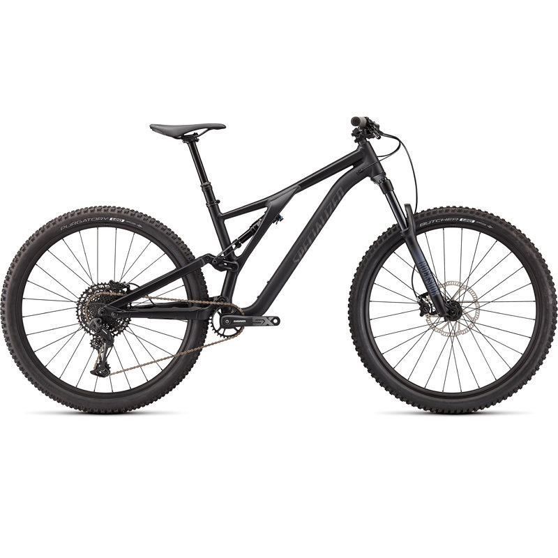 Specialized BIKES 2021 SPECIALIZED STUMPJUMPER ALLOY SATIN BLK/SMK S4