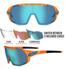 Sledge, Crystal Orange Interchangeable Sunglasses