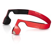 HEADPHONES AFTERSHOKZ Wireless Bone Conduction Trekz Titanium - Red