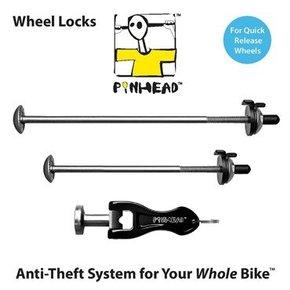 LOCKSET Pinhead 2-Pack Wheel Skewer Set