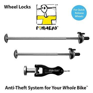 CERRADURA de alfiler 2-Pack rueda pincho conjunto