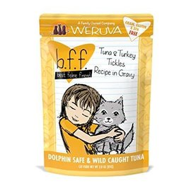Weruva BFF - Tuna & Turkey Tickles pouches
