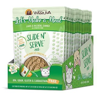 Weruva Weruva - Let's Make a Meal Slide N Serve 2.8oz/case