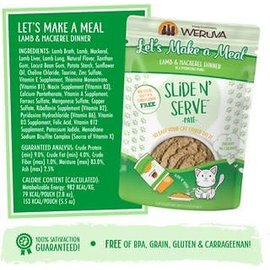 Weruva Weruva - Let's Make a Meal Slide N Serve 5.5oz