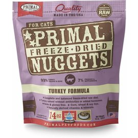 Primal Primal - Freeze Dried Feline Turkey 14oz