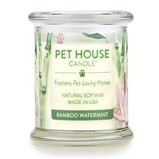 One Fur All Pet House - Bamboo Watermint Candle 8.5oz