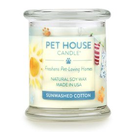 One Fur All Pet House - Candle Sunwashed Cotton 8.5oz
