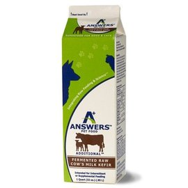Answers Answers - Fermented Cow's Milk Kefir