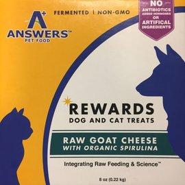 Answers Answers - Raw Goat Cheese w/Spirulina