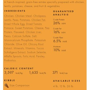 Fromm Family Foods Fromm - Chicken au Frommage 26#