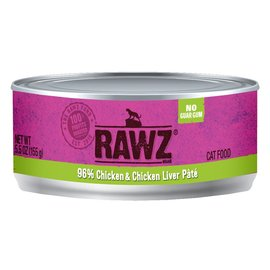 Rawz Rawz - Chicken/Liver Pate Cat 5.5oz
