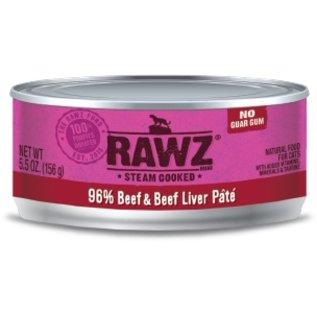 Rawz Rawz - Beef/Liver Pate Cat 5.5oz