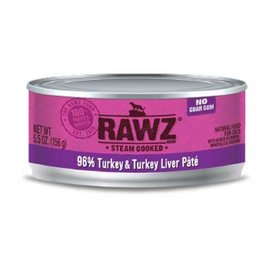 Rawz Rawz - Turkey/Liver Pate Cat 5.5oz