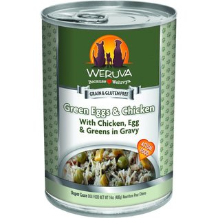 Weruva Weruva - Green Eggs & Chicken Dog 14oz