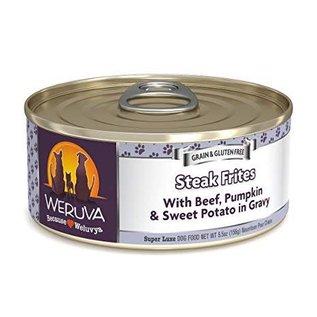 Weruva Weruva - Steak Frites Dog 5.5oz