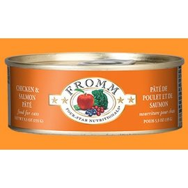 Fromm Family Foods Fromm - Chicken & Salmon Cat 5.5oz