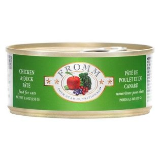 Fromm Family Foods Fromm - Duck & Chicken cat 5.5oz