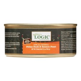 Nature's Logic Nature's Logic - Duck & Salmon Cat 5.5oz