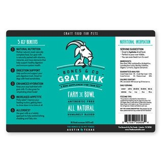 Bones & Co Bones & Co Goat Milk 32oz