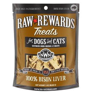Northwest Naturals - Rewards Bison Liver 3oz