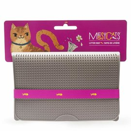 Messy Mutts Messy Mutts - Silicone Litter Mat Grey