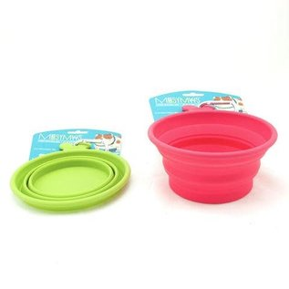 Messy Mutts Messy Mutts - Silicone Collapsible Bowl Red Medium