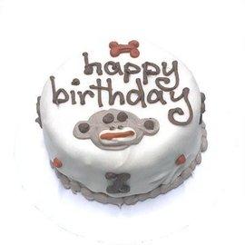 Bubba Rose - Sock Monkey Birthday Cake