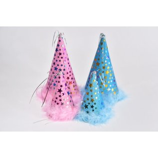 Charming Pet Products Party Hat Blue Large