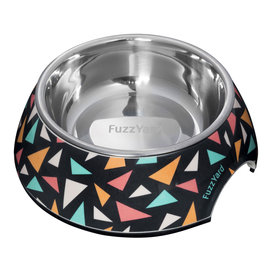 Fuzzyard Fuzzyard - Rad Triangles Bowl Small