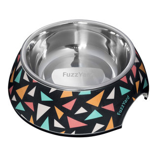 Fuzzyard Fuzzyard - Rad Triangles Bowl Medium
