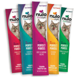 Nulo Nulo - Perfect Purées Tuna & Crab Treats .5oz