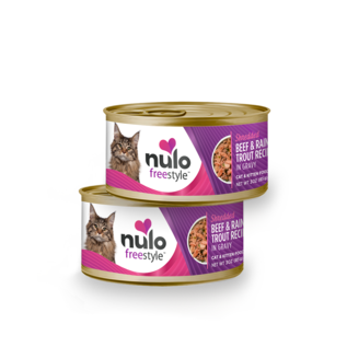 Nulo Nulo - Shredded Beef & Trout 3oz