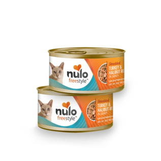 Nulo Nulo - Shredded Turkey & Halibut 3oz