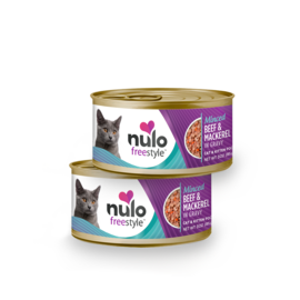 Nulo Nulo - Minced Beef & Mackerel cat 3oz