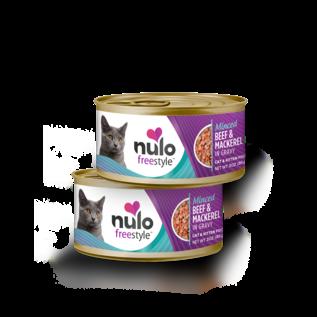 Nulo Nulo - Minced Beef & Mackerel cat 3oz