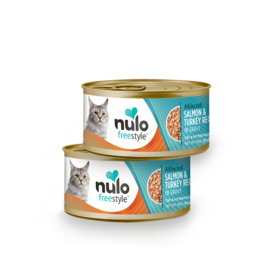 Nulo Nulo - Minced Salmon & Turkey cat 3oz